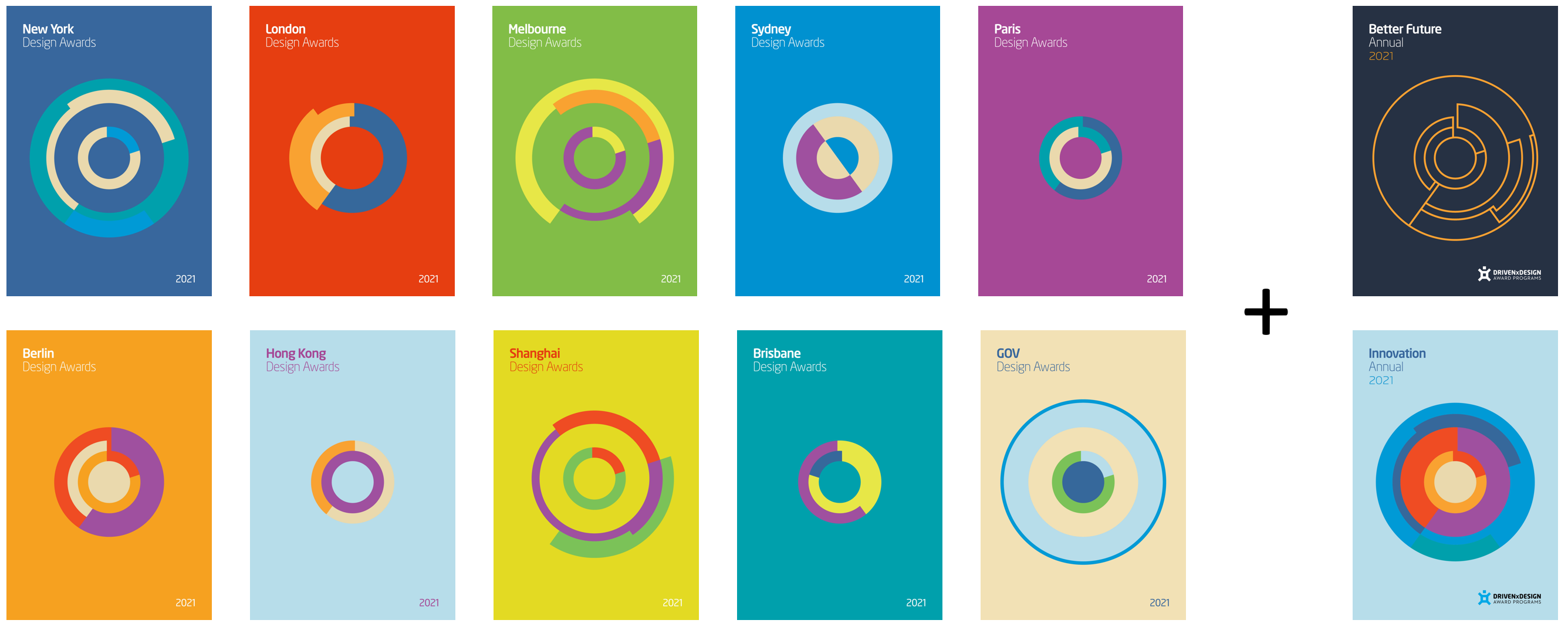 DRIVENxDESIGN Award Annuals