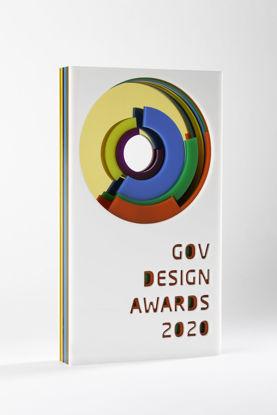 Picture of GOV Design Awards 2020 - additional trophy - postage global