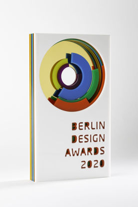 Picture of Berlin Design Awards 2020 - additional trophy - postage global