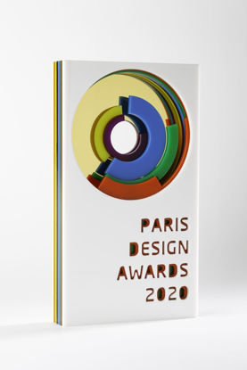 Picture of Paris Design Awards 2020 - additional trophy - postage global