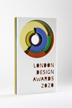 Picture of London Design Awards 2020 - additional trophy - postage global