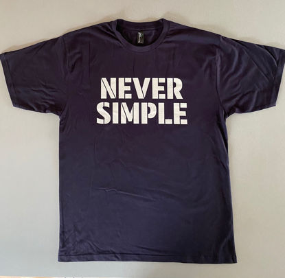 Picture of Never Simple T-shirt (including shipping)