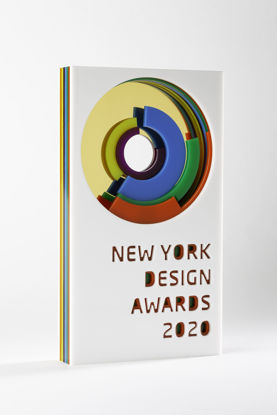 Picture of New York Design Awards 2020 - additional trophy - postage global