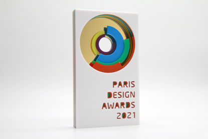 Picture of Paris Design Awards 2021 - additional trophy - postage Australia