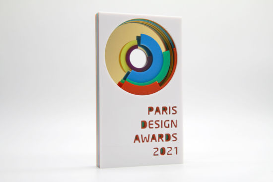 Picture of Paris Design Awards 2021 - additional trophy - postage global